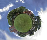 A global view of the campus green, where the Diversity Task Force will hold its picnic. Photo by Ashley Klann.